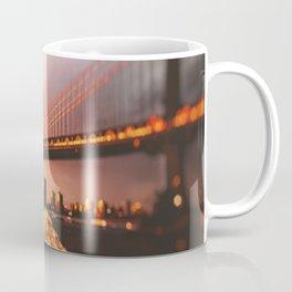 view of the manhattan skyline Coffee Mug