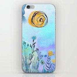 Blue Garden II iPhone Skin