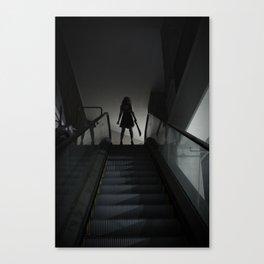 L'Esprit De L'Escalier Canvas Print
