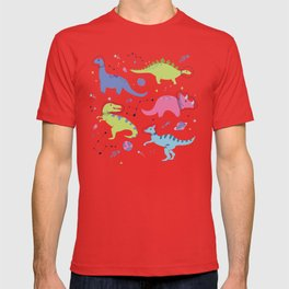 Dinosaurs in Space T-shirt