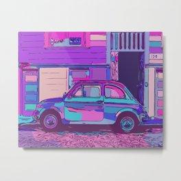 500 in city street Metal Print