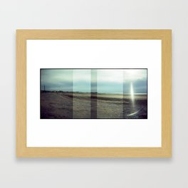 Morecambe Panorama Framed Art Print