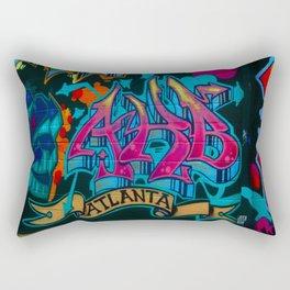 ATL Graffiti Rectangular Pillow