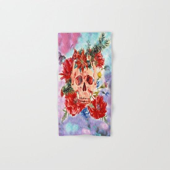 Skull Pattern Hand & Bath Towel