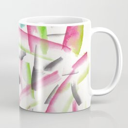 180719 Koh-I-Noor Watercolour Abstract 22| Watercolor Brush Strokes Coffee Mug