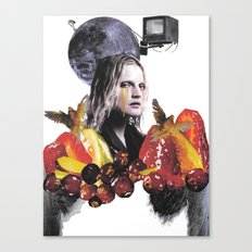 My Weeping Mother Canvas Print
