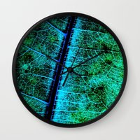 BreadfruitLeaf Wall Clock