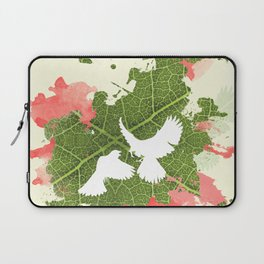 Leaf Bird Laptop Sleeve