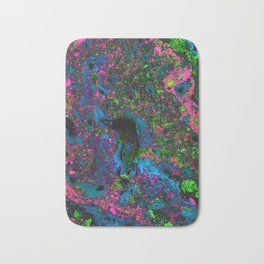 Raver (Alcohol Inks Series 05) Bath Mat