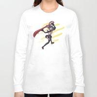 kill la kill Long Sleeve T-shirts featuring Kill la Kill: Ryuko Matoi by meganbarker