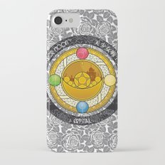 Sailor Moon - Crystal Transformation Brooch iPhone 7 Slim Case