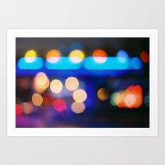 night&light Art Print