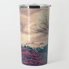 Japanese Mountains Travel Mug