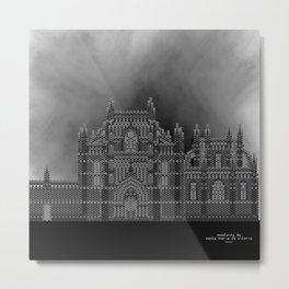 HexArchi - Portugal, Batalha, Mosteiro de Santa Maria da Vitória . Igreja e Capela do Fundador Metal Print