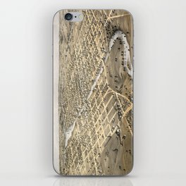 Watertown - Wisconsin - 1867 iPhone Skin
