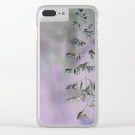 Grass invers Clear iPhone Case