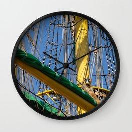 Rig - Alexander von Humboldt II Wall Clock
