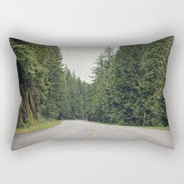 lonely road. Rectangular Pillow