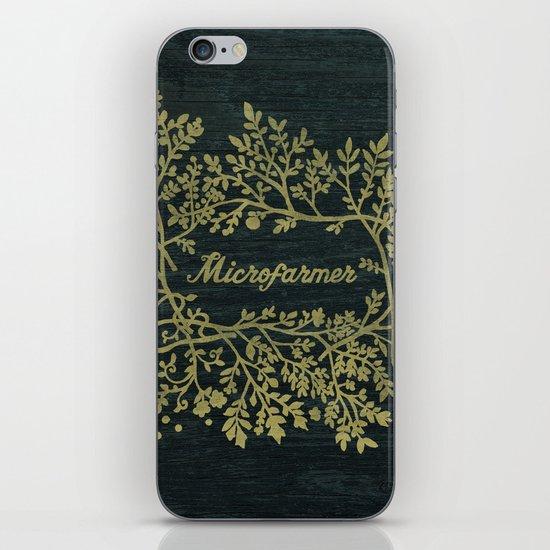 Microfarmer - Gold iPhone & iPod Skin