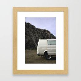 VAN ROCK Framed Art Print