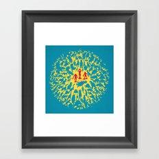 Hunted! Framed Art Print