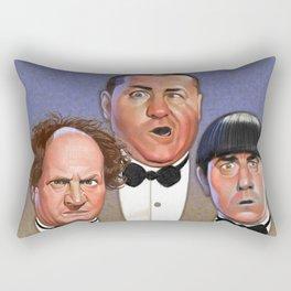 The Three Stooges Rectangular Pillow