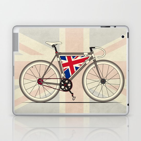 Love Bike, Love Britain Laptop & iPad Skin