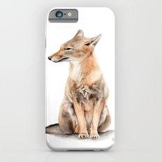 Fox Watercolor Slim Case iPhone 6s