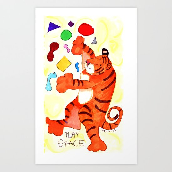 How Do You Access Your Play Space? Art Print