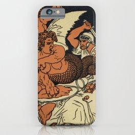 The Harpies Mythology Scene iPhone Case