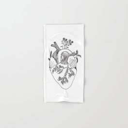 Growing heart Hand & Bath Towel