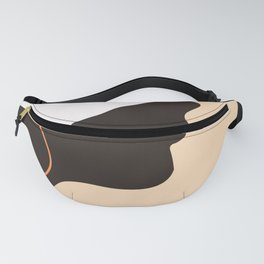 My White Hat Fanny Pack