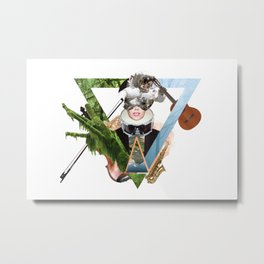 Arty Metal Print