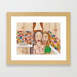 Home Love Framed Art Print