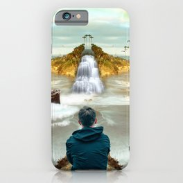 dreamer in Laguna Beach iPhone Case