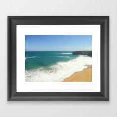 Australian Beaches Framed Art Print