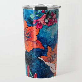 Blooming Night Garden: Twilight Travel Mug