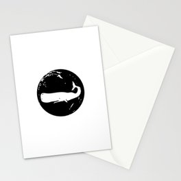 Whale Stamp Stationery Cards