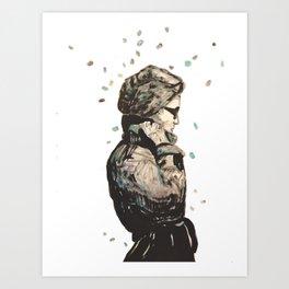 knoke rain  Art Print