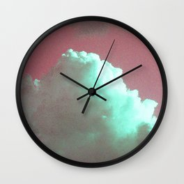 STRAWBERRIES AND CREAM Wall Clock