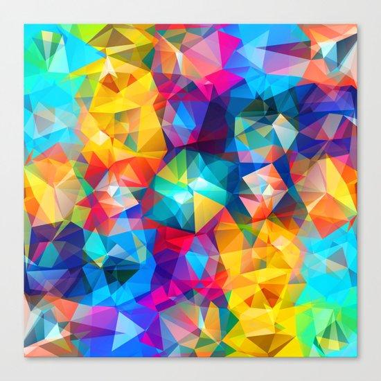 Summer Triangles Canvas Print