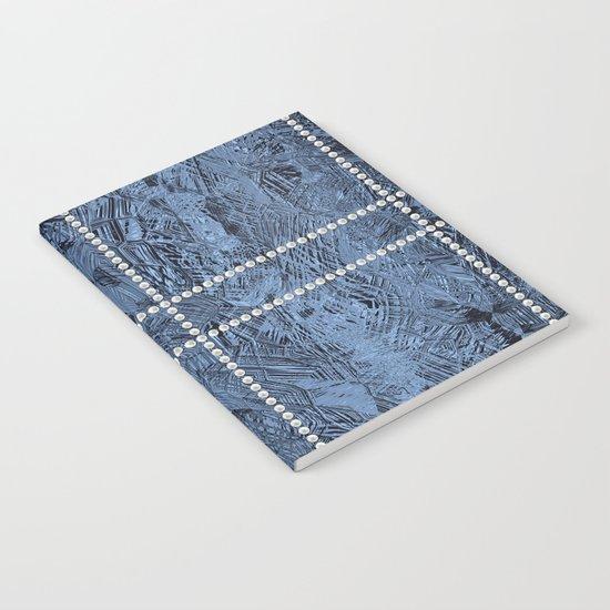Ocean Blue Pearls Notebook