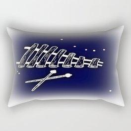 Space Marimba Rectangular Pillow