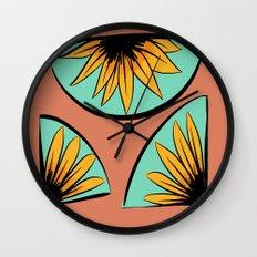 sunflower pieces  Wall Clock