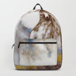 Louis Icart - Hunting - Supreme Delight - Digital Remastered Edition Backpack