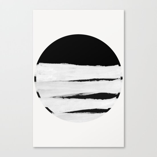 White Space Canvas Print