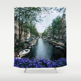 Charming Amsterdam Shower Curtain