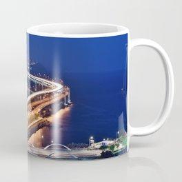 Gwangandaegyo Bridge (Busan, South Korea) Coffee Mug