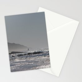 big beach Stationery Cards