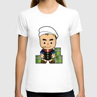 popeye T-shirts featuring Popeye  by Jefferson Ng